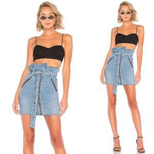 📿🆕 GRLFRND ♛ Ava Paper Bag Waist Mini Skirt ♛